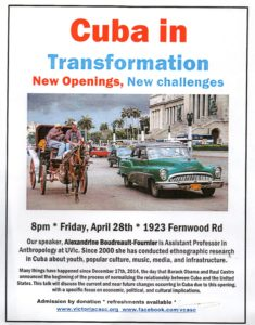 Event Poster: Cuba in Transofrmation