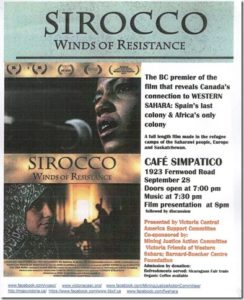 Poster: Sirocco Film